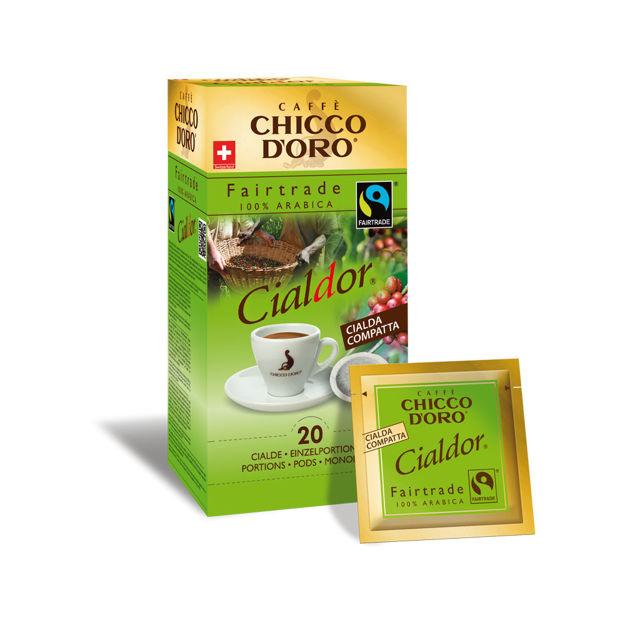 Immagine di Cialde CIALDOR Fairtrade (box da 20 porzioni)