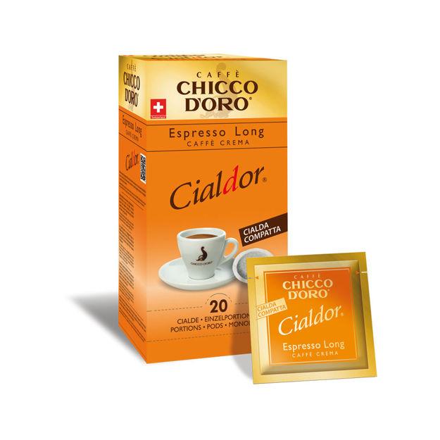 Immagine di Cialde CIALDOR Espresso Long (box da 20 porzioni)