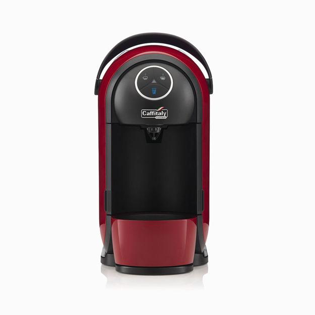 Immagine di Macchina Caffè Caffitaly S21 CLIO Colore Rosso/Nero